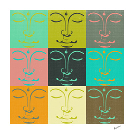Faces of the Buddha