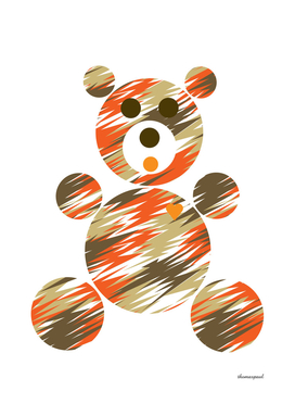 PATTERN BEAR ELECTRIC TAUPE