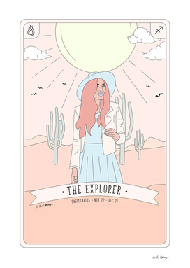 Sagittarius  - The Explorer