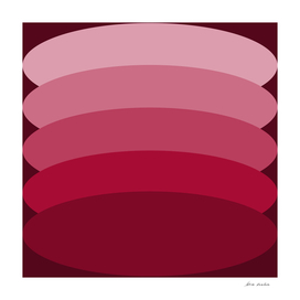 Red and Pink Ellipses