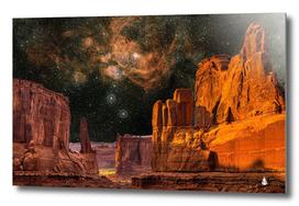 Geology sand stone canyon