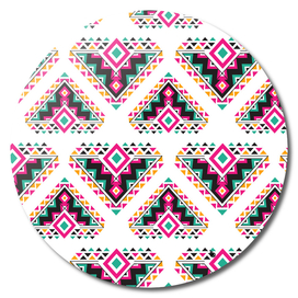 Ethnic Exotic wind triangle pattern