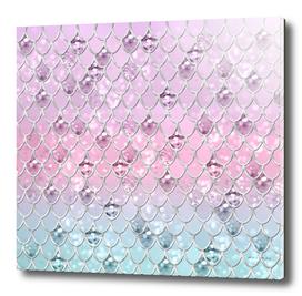 Mermaid Princess Glitter Scales #1 #shiny #pastel #decor