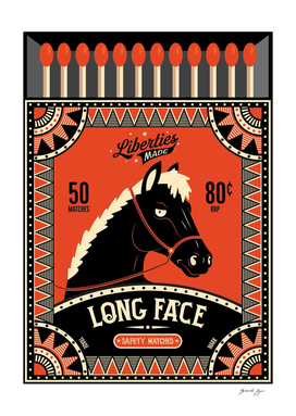 Long Face Safety Matches