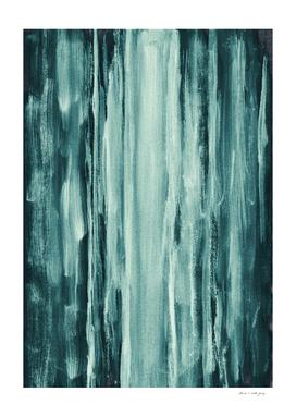 Teal Watercolor Dream #1 #painting #decor #art