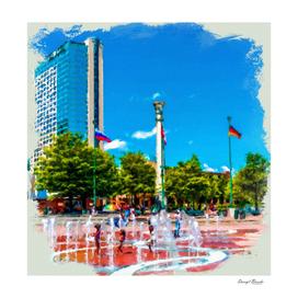 Atlanta Olympic Fountain