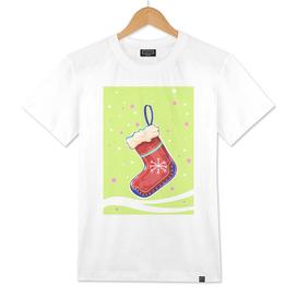 Christmas stockings for Santas gifts.