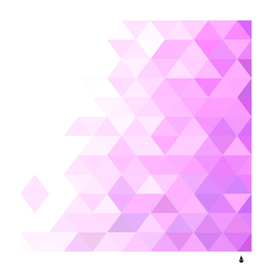 Triangle background tile design