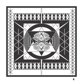 Mandala digital artwork artwork