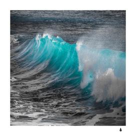 Wave water spray sea splash