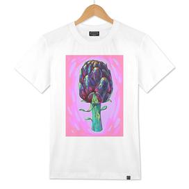 Artichoke. Colorful illustration.