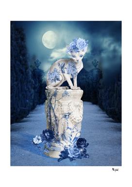 Porcelain Sphynx