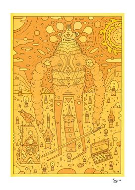wanderer (orange planet)