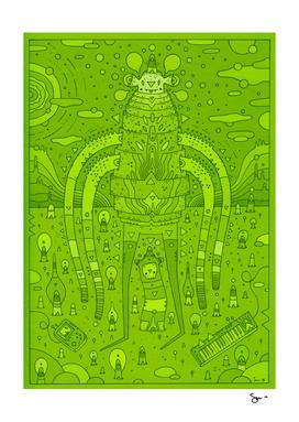 wanderer (green planet)