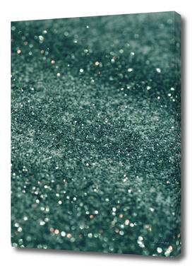 Teal Mermaid Ocean Glitter #2 #shiny #decor #art