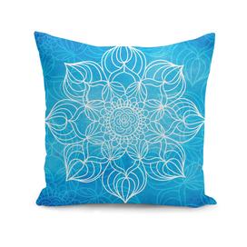 Bohemian Blue Mandala Design