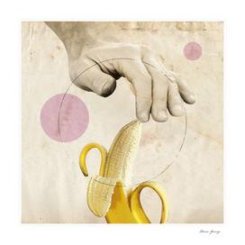 MG0165 male hand & banana