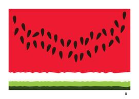 Simplistic watermelon