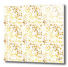 Shining Golden Circles Pattern