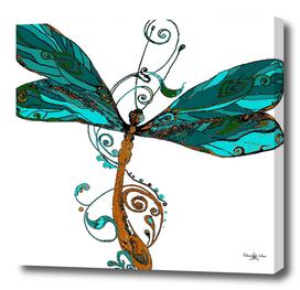 Tribal Dragonfly