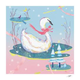 Christmas Swan