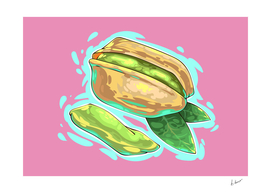Pistachios nuts comic