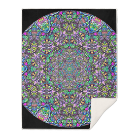 Mandala Circle Of Colored Glass