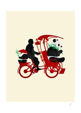 Rickshaw Pandas