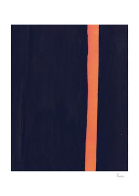 Orange Stripe I