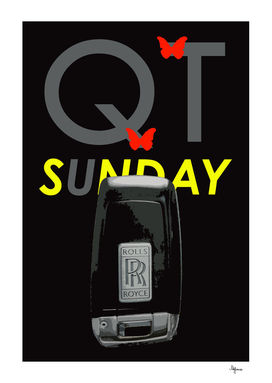 QT SUNDAY ROLLS ROYCE PHANTOM BLACK POSITIVE THINKING