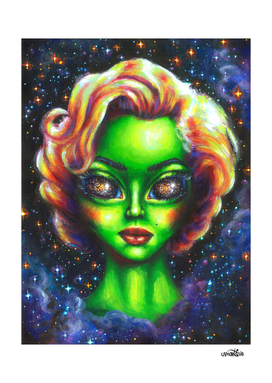 Iconic Alien Women: Marilyn