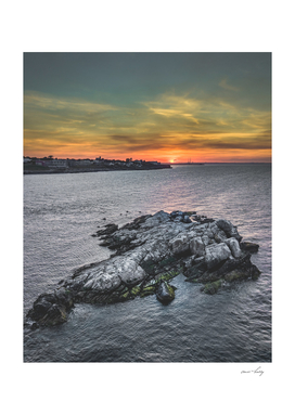 Sunset over Dalkey, Dublin, Ireland