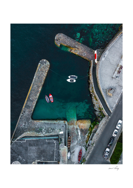 Coliemore Harbour, Dublin, Ireland