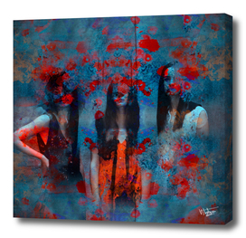 Abstract three women