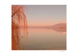 Lake Autumn Sunset