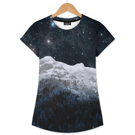 Mountains Attracts Galaxy