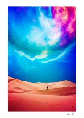 Desierto Planeta Rosa Tshirt