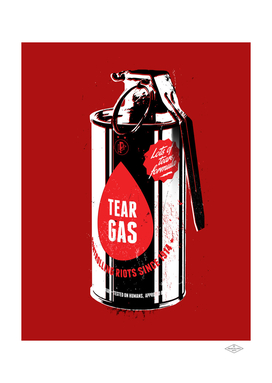 Tear gas grenade