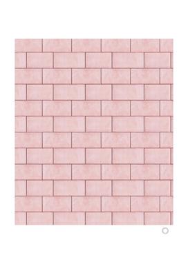 Blush Brick Imperfection