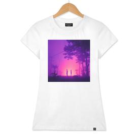 Purple Desert Fog
