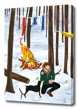 *CAMP 焚き火/bonfire.