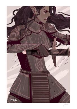 Warrior Lavellan