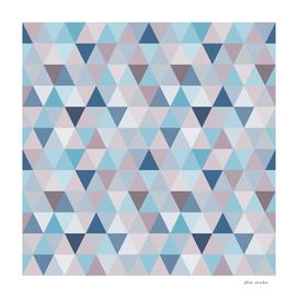 Mauve Blue Small Triangles