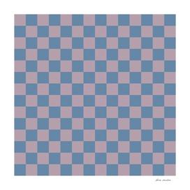 Mauve Blue Checks