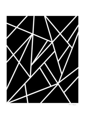 Classic Black White Geo #1 #geometric #decor #art