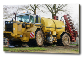 TG2204 Self propelled slurry tanker