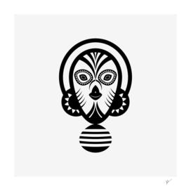 inca skull mask
