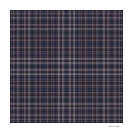 Navy Rust Grid Checks II