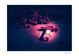 Brick Crucifix