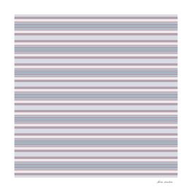 Mauve Blue Stripes